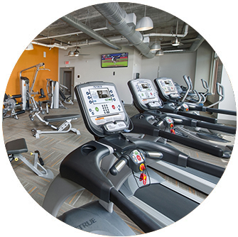 24-Hour Fitness Center - Apartments Greenville