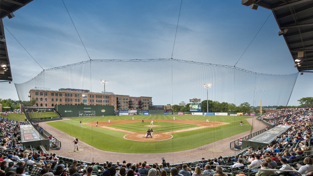 Fluor Field - Modled After Fenway Park
